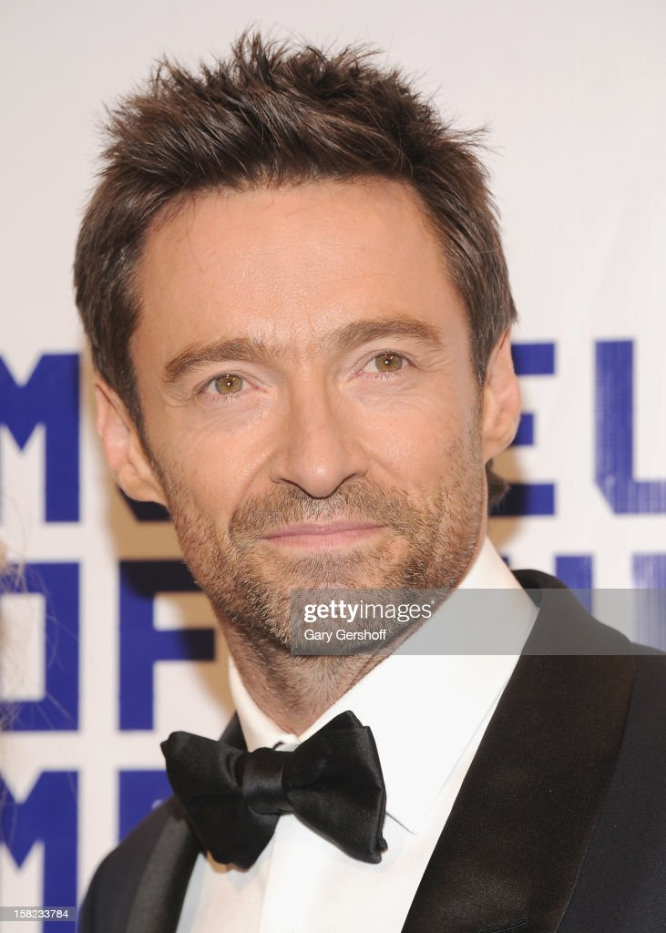 Event honoree Hugh Jackman attends the Museum Of Moving Image Salute To Hugh Jackman at Cipriani Wall Street on December 11, 2012 in New York City.