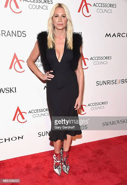 Event honoree jewelry designer Jennifer Fisher attends the 2016 Accessories Council ACE Awards at Cipriani 42nd Street on August 2 2016 in New York...