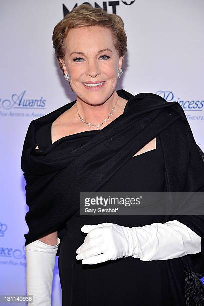 Event honoree Julie Andrews attends the 2011 Princess Grace Awards Gala at Cipriani 42nd Street on November 1 2011 in New York City