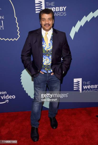 Event honoree Neil deGrasse Tyson attends the 2019 Webby Awards at Cipriani Wall St on May 13 2019 in New York City
