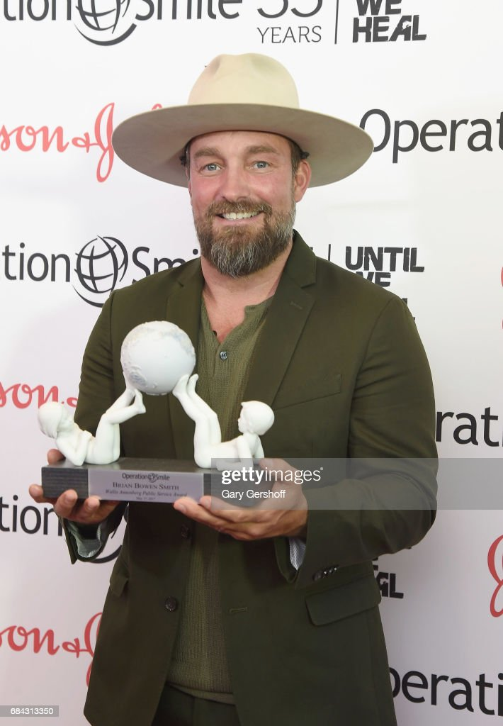 Event honoree, photographer Brian Bowen Smith attends the 35th Anniversary of Operation Smile at West Edge on May 17, 2017 in New York City.