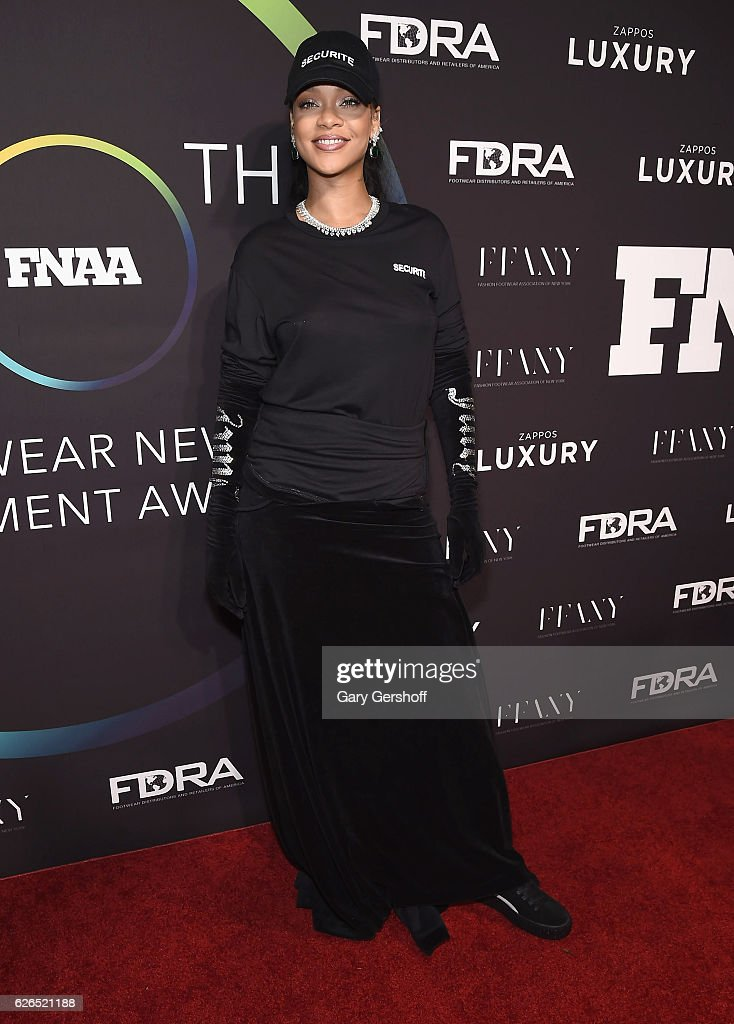 Event honoree Rihanna attends the 30th FN Achievement awards at IAC Headquarters on November 29, 2016 in New York City.