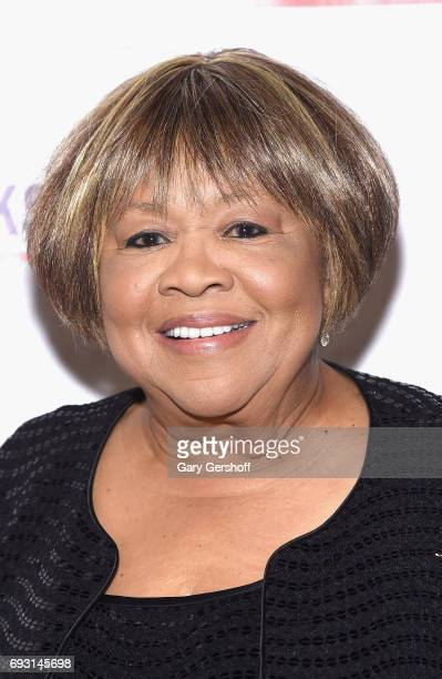 Event honoree singer Mavis Staples attends the 2017 Gordon Parks Foundation Awards gala at Cipriani 42nd Street on June 6 2017 in New York City