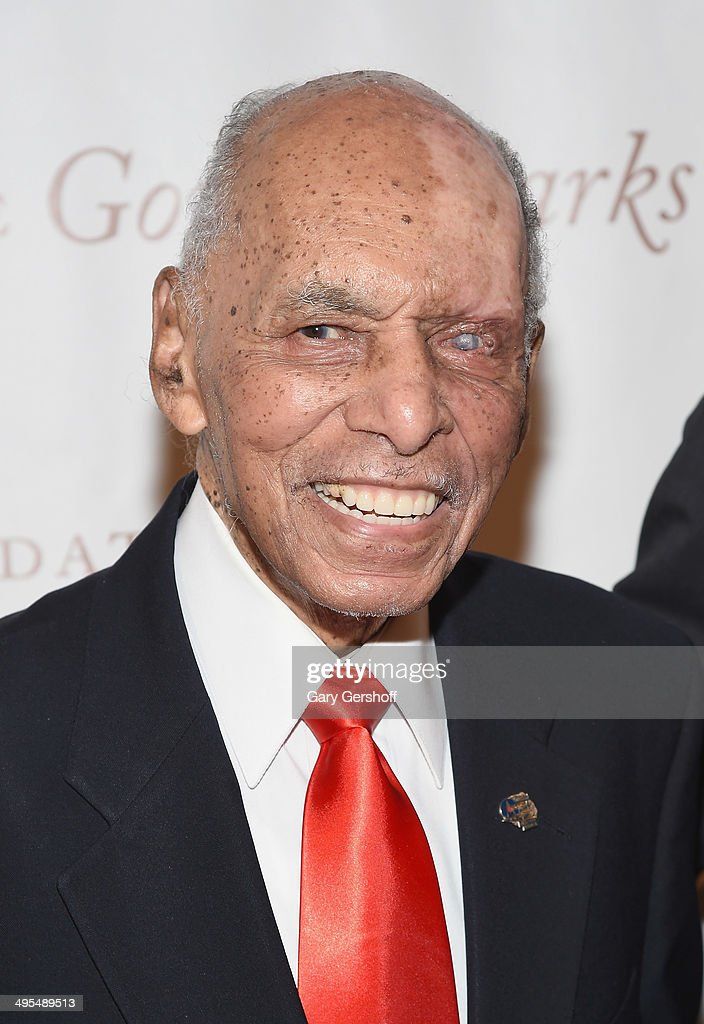 Event honoree Tuskegee Airman Roscoe Brown attends the 2014 Gordan Parks Foundation Awards Dinner & Auction at Cipriani Wall Street on June 3, 2014 in New York City.