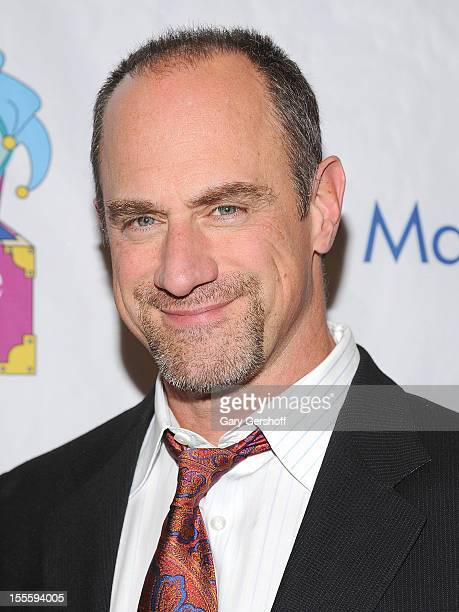 Event host actor Christopher Meloni attends the 13th Annual Make Believe On Broadway Gala at The Bernard B Jacobs Theatre on November 5 2012 in New...