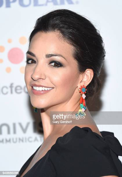 Event host actress and singer Ana Villafane attends the 2018 Hispanic Federation's 'Rising Stronger' Spring gala at American Museum of Natural...