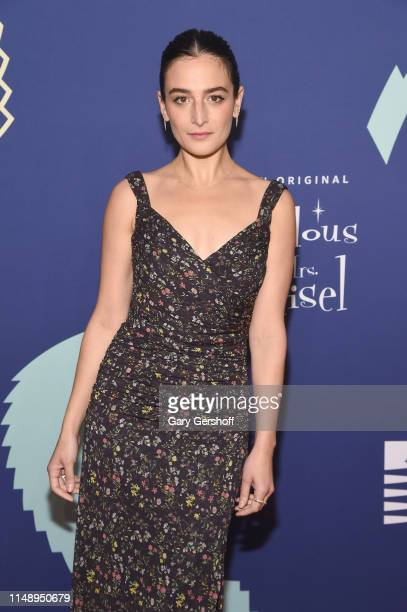 Event host actress Jenny Slate attends the 2019 Webby Awards at Cipriani Wall St on May 13 2019 in New York City