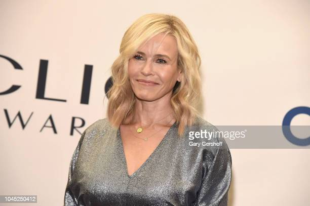 Event host Chelsea Handler attends the 2018 Clio Awards at The Ziegfeld Ballroom on October 3 2018 in New York City