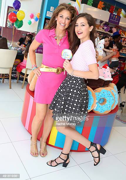 Event host Dylan Lauren and Emma Fuhrmann attend Dylan's Candy Bar Candy Girl Collection LA Launch Event at Dylan's Candy Bar on May 17 2014 in Los...