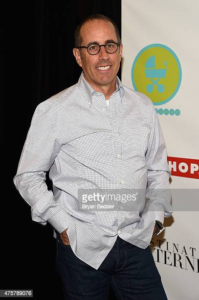 Event Host Jerry Seinfeld attends the 2015 Baby Buggy Bedtime Bash hosted by Jessica and Jerry Seinfeld and sponsored by Destination Maternity at...