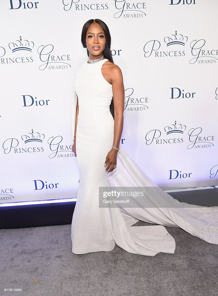 Event host Naomi Campbell attends the 2016 Princess Grace Awards Gala at Cipriani 25 Broadway on October 24, 2016 in New York City.