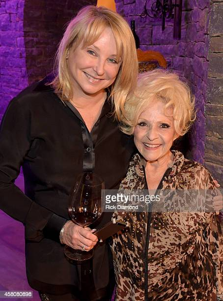 Event Host Sylvia Roberts and Rock and Roll Hall of Fame member Brenda Lee attend A Tribute to Phil Everly to benifit COPD at the home of Sylvia...