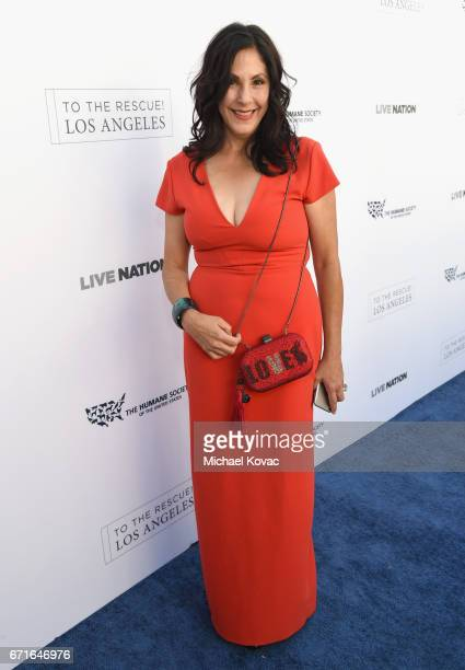 HSUS Event Leadership Committee Member Cheri Shankar at The Humane Society of the United States' To the Rescue Los Angeles Gala at Paramount Studios...