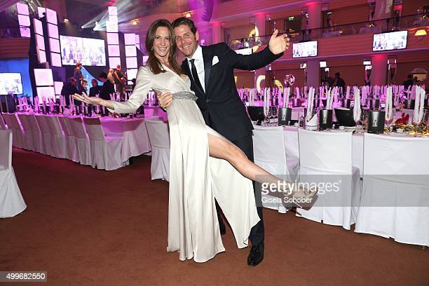 Event manager Philip Greffenius and his wife Evelyn Greffenius attend the Audi Generation Award 2015 at Hotel Bayerischer Hof on December 2 2015 in...