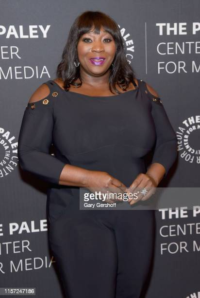Event moderator Bevy Smith attends 'Living Out Loud In Late Night Celebrating 10 Years Of Watch What Happens Live With Andy Cohen' at Paley Center...