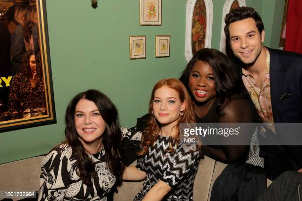 S EXTRAORDINARY PLAYLIST Event SingALong Pictured Lauren Graham Jane Levy Alex Newell Skylar Astin at Tramp Stamp Granny's February 4th 2020