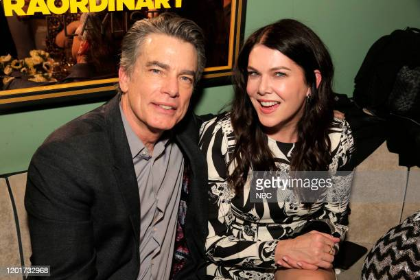 S EXTRAORDINARY PLAYLIST Event SingALong Pictured Peter Gallagher Lauren Graham at Tramp Stamp Granny's February 4th 2020