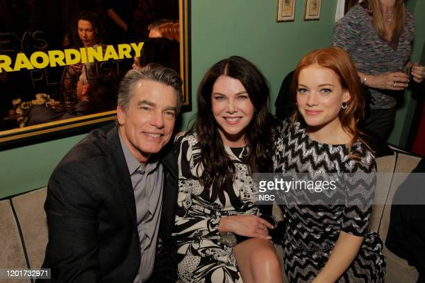 S EXTRAORDINARY PLAYLIST Event SingALong Pictured Peter Gallagher Lauren Graham Jane Levy at Tramp Stamp Granny's February 4th 2020