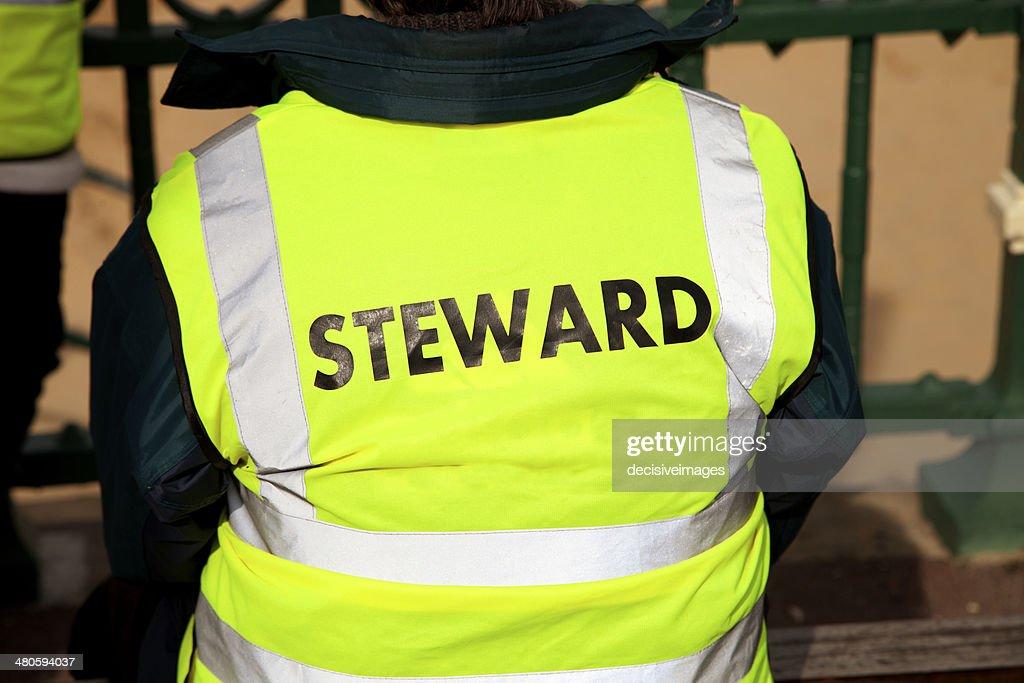 Event Steward : Stock Photo