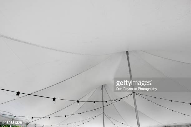 event tent copy space hdr - opening event stock-fotos und bilder