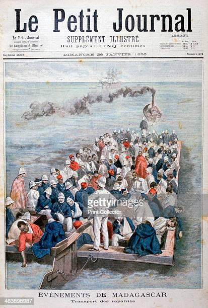 the repatriation of French troops 1896 France invaded the independent island kingdom of Madagascar in 1895 By 1896 the island had been conquered and...