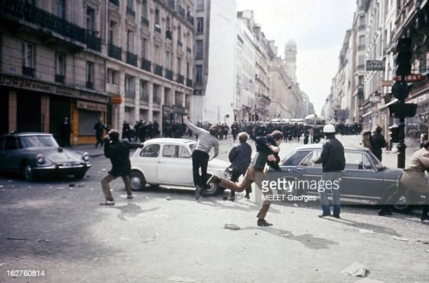 Events Of May 1968 In Paris: May 6Th. Le 6 mai 1968, journée du grand affrontement entre étudiants et forces de l'ordre. Près de 10 000 étudiants...