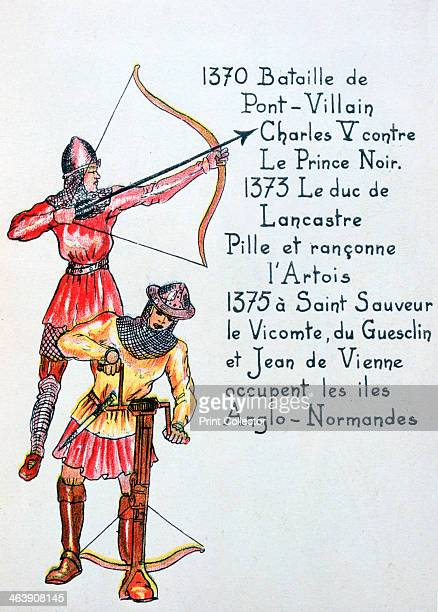Events of the The Hundred Years War From an antiBritish brochure titled Who has been the enemy of France through History