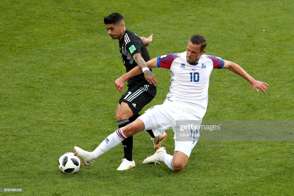 Argentina v Iceland: Group D - 2018 FIFA World Cup Russia : Fotografía de noticias