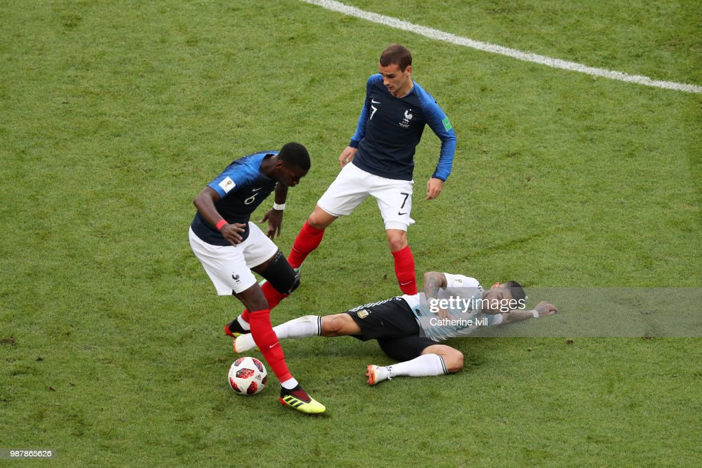 France v Argentina: Round of 16 - 2018 FIFA World Cup Russia : Nachrichtenfoto