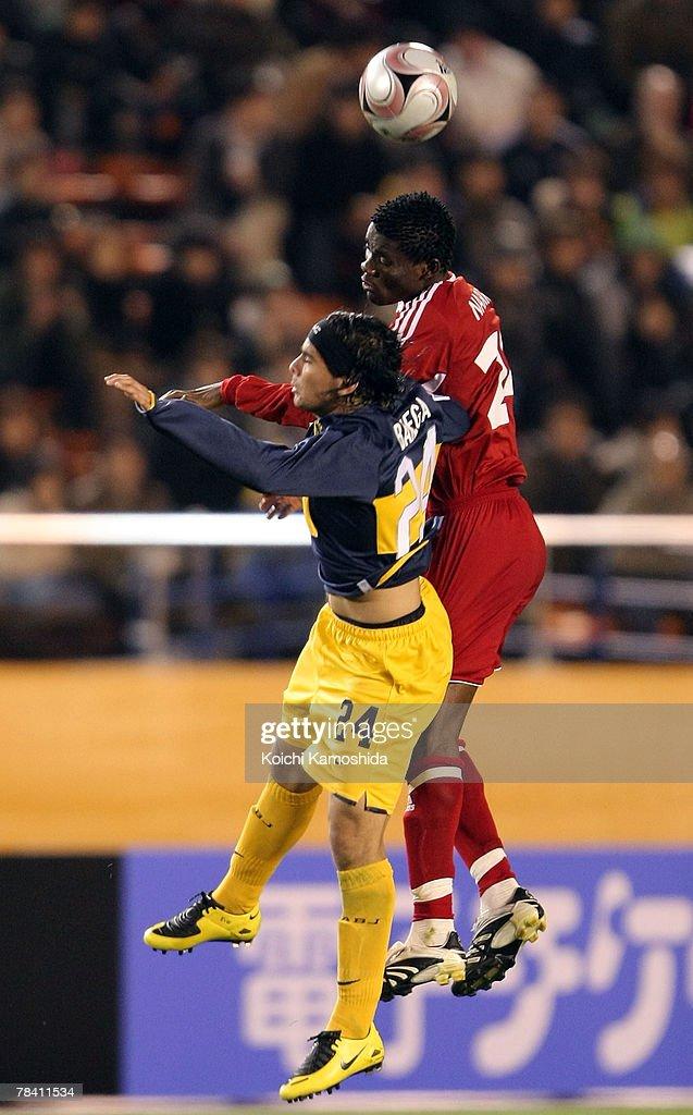 Ever Banega Of Boca Juniors And Ever Banega Of Etoile