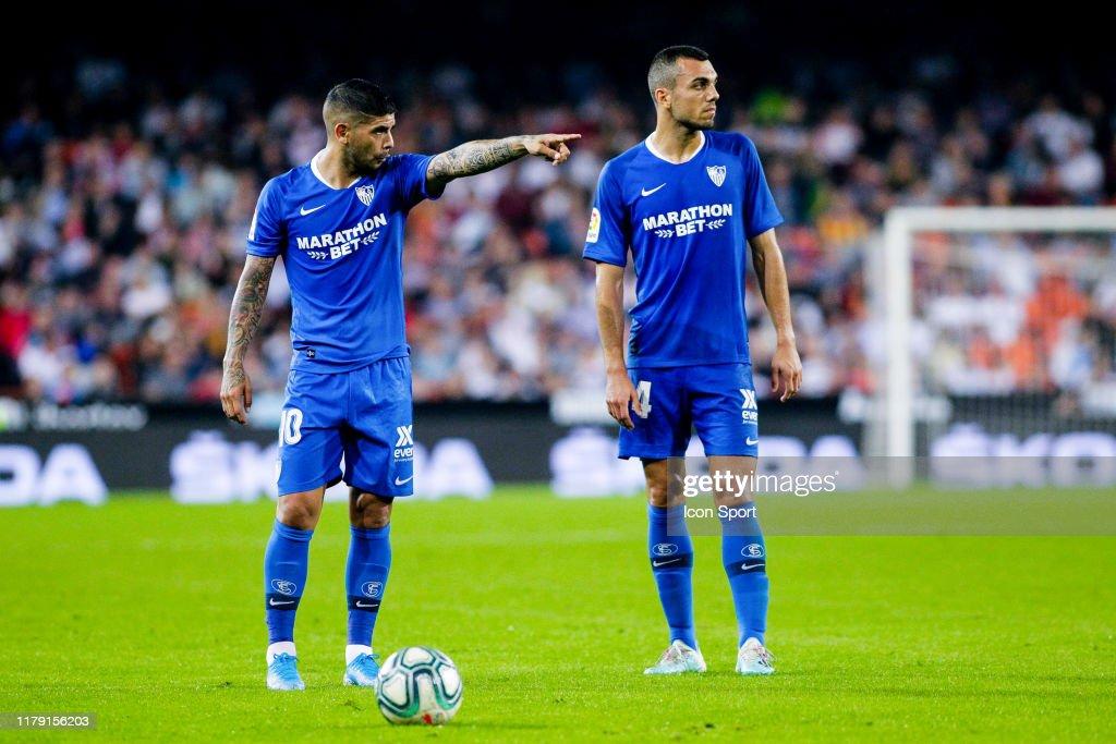 Valencia Club de Futbol v Sevilla Futbol Club - Liga : Fotografía de noticias
