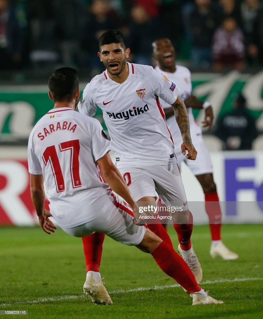 UEFA Europa League: Akhisarspor v Sevilla : Fotografía de noticias
