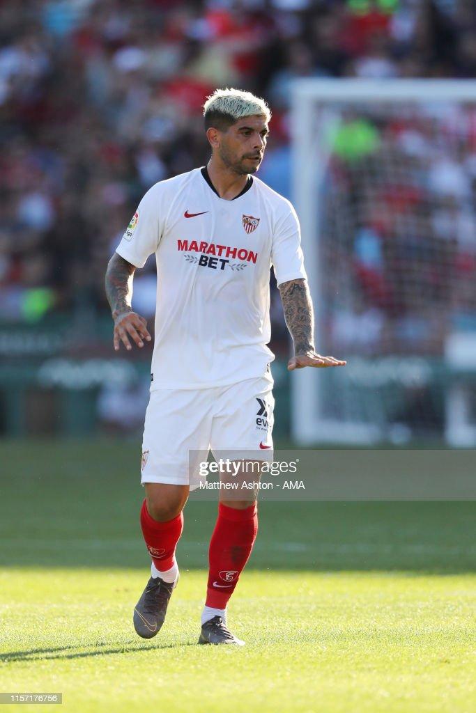 Sevilla v Liverpool - Pre-Season Friendly : News Photo