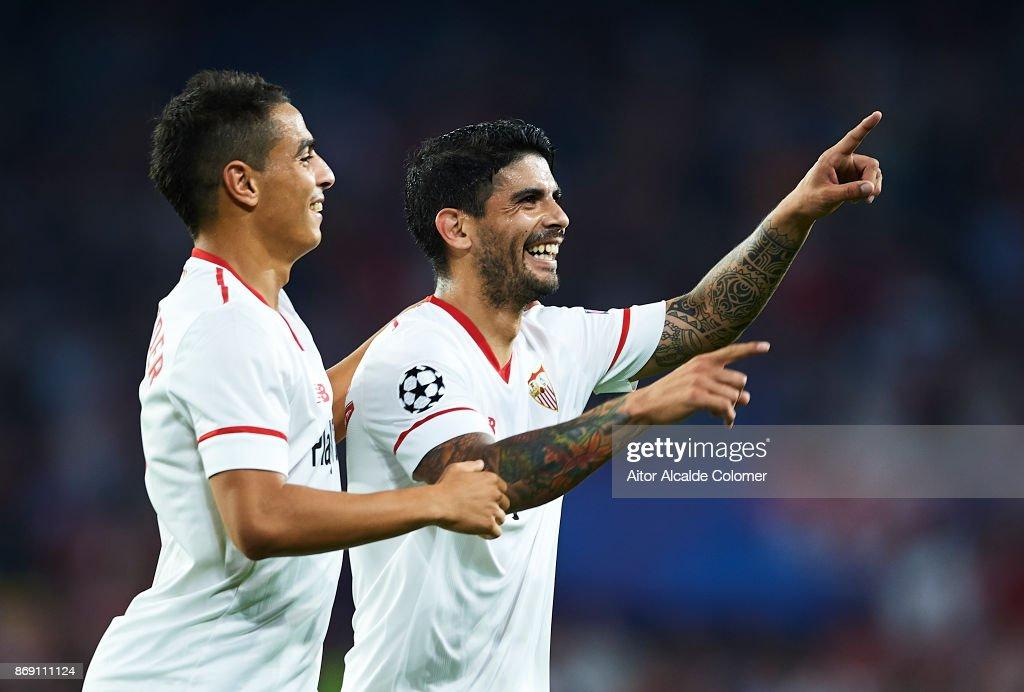 Sevilla FC v Spartak Moskva - UEFA Champions League : Nachrichtenfoto