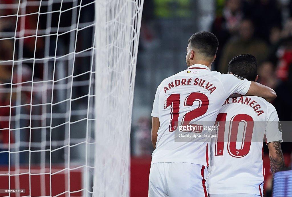 Sevilla v FC Krasnodar - UEFA Europa League - Group J : News Photo