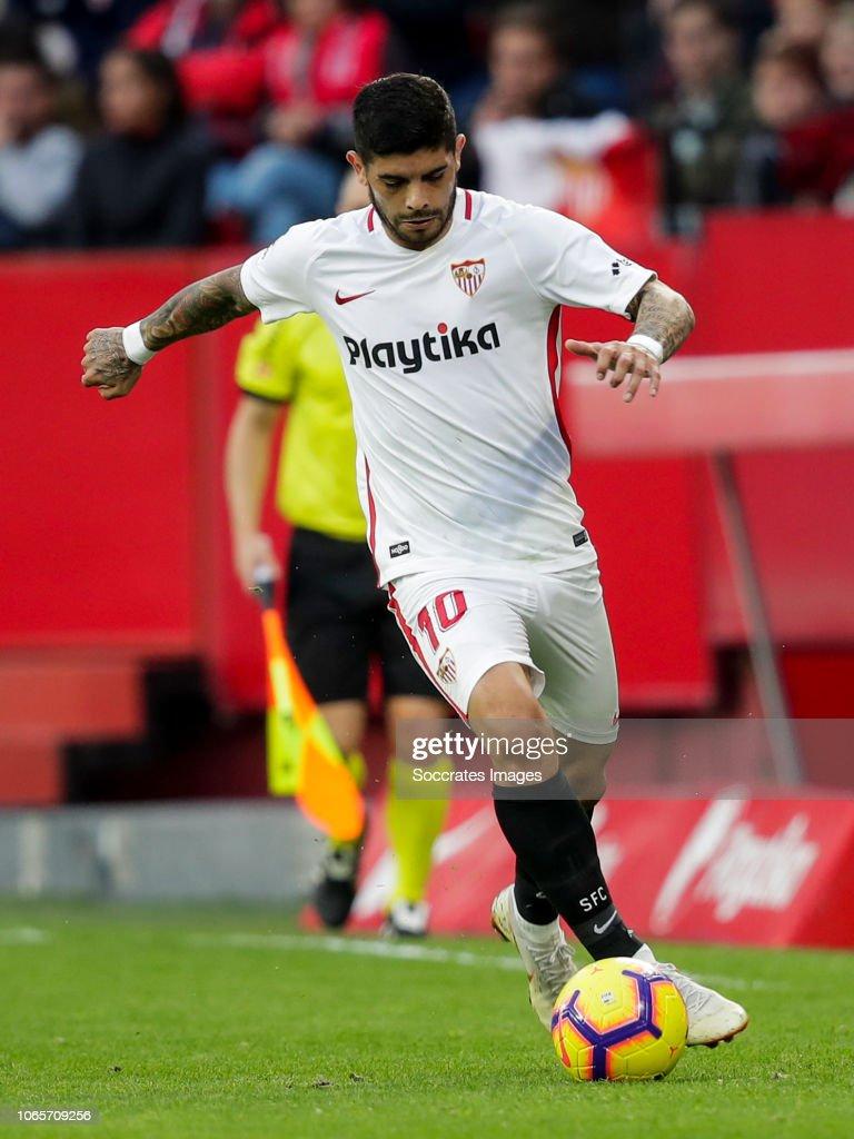 Sevilla v Real Valladolid - La Liga Santander : Fotografía de noticias