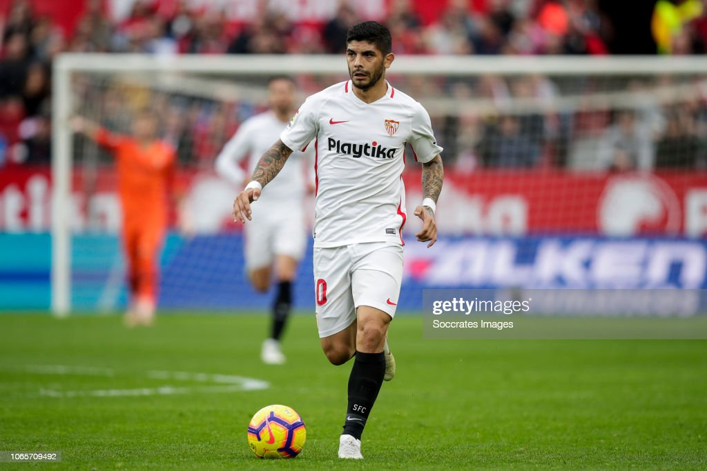 Sevilla v Real Valladolid - La Liga Santander : News Photo