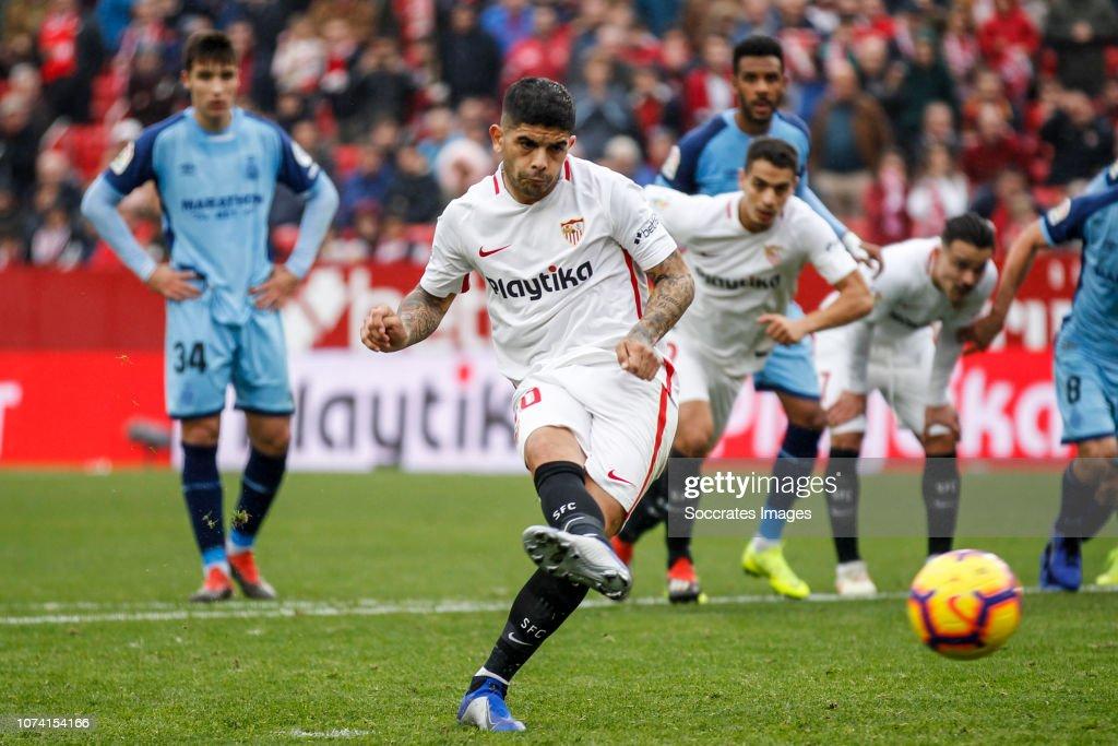 Sevilla v Girona - La Liga Santander : Fotografía de noticias