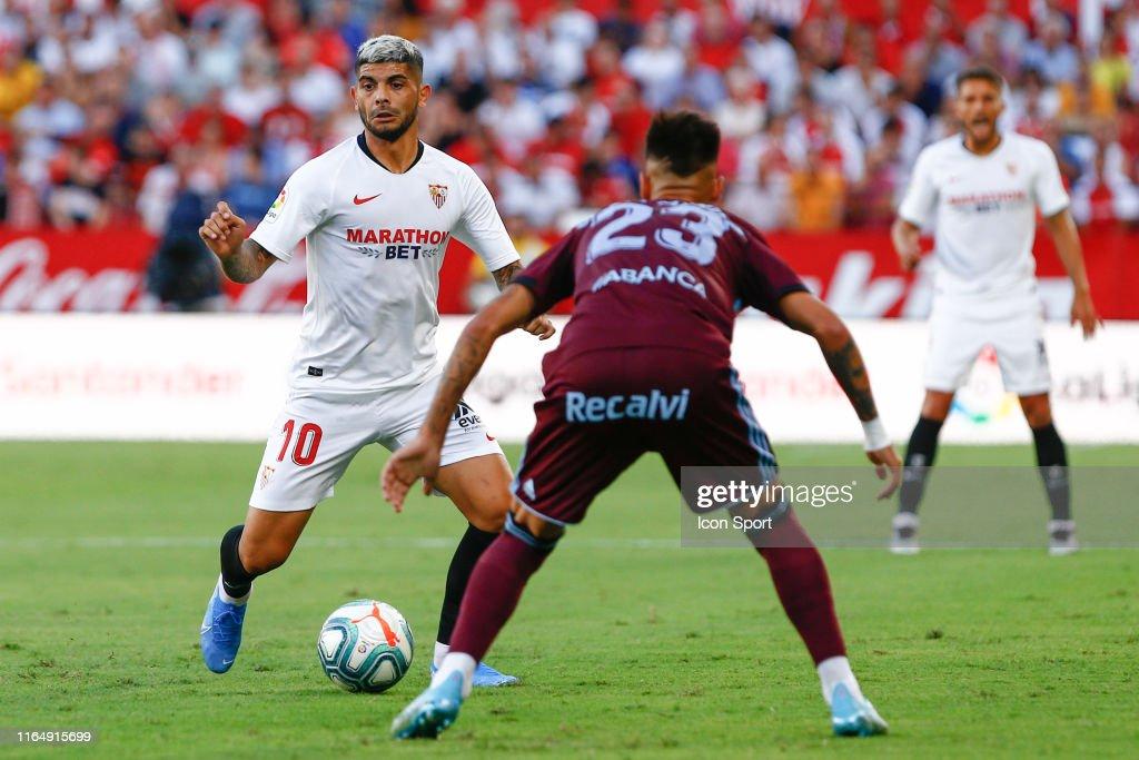 FC Sevilla v RC Celta - La Liga Santander : Fotografía de noticias