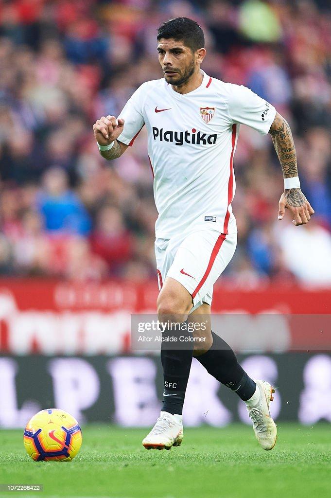 Sevilla FC v Real Valladolid CF - La Liga : Fotografía de noticias
