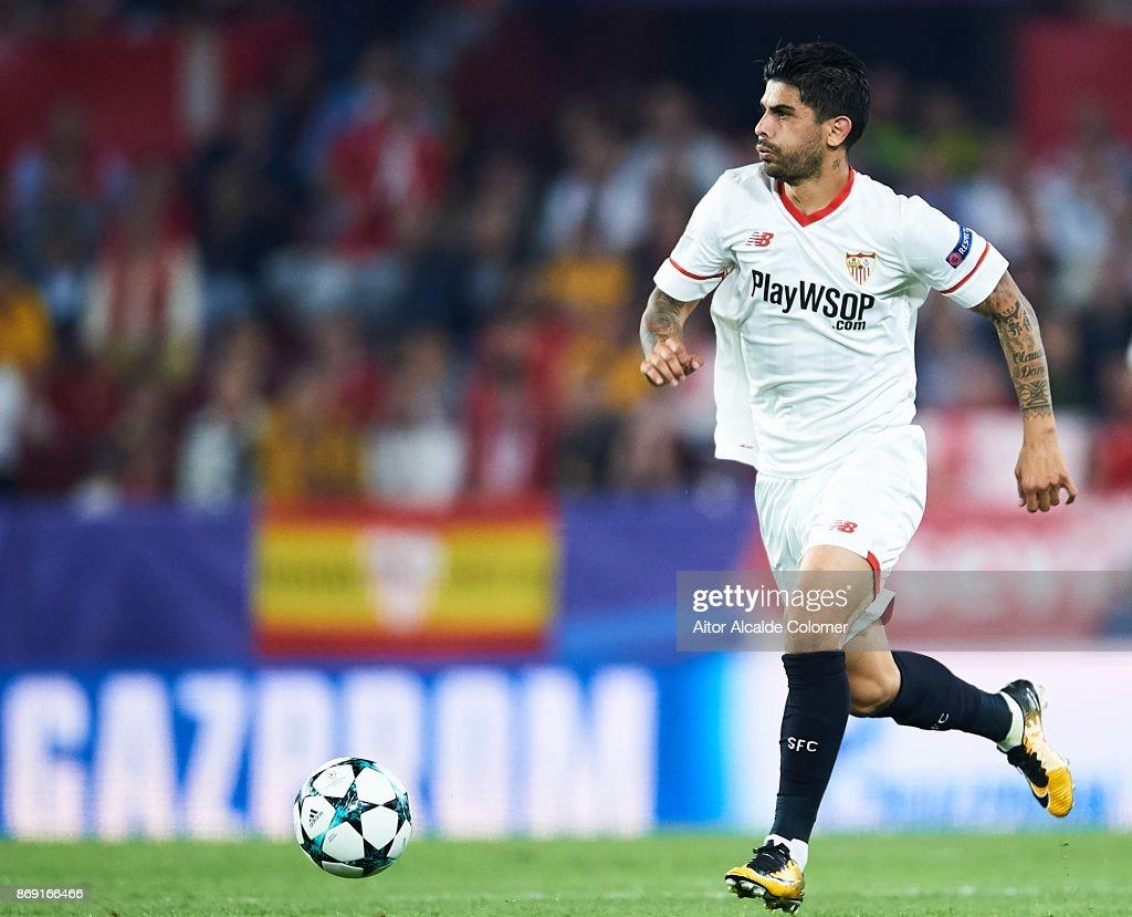 Sevilla FC v Spartak Moskva - UEFA Champions League : Foto di attualità