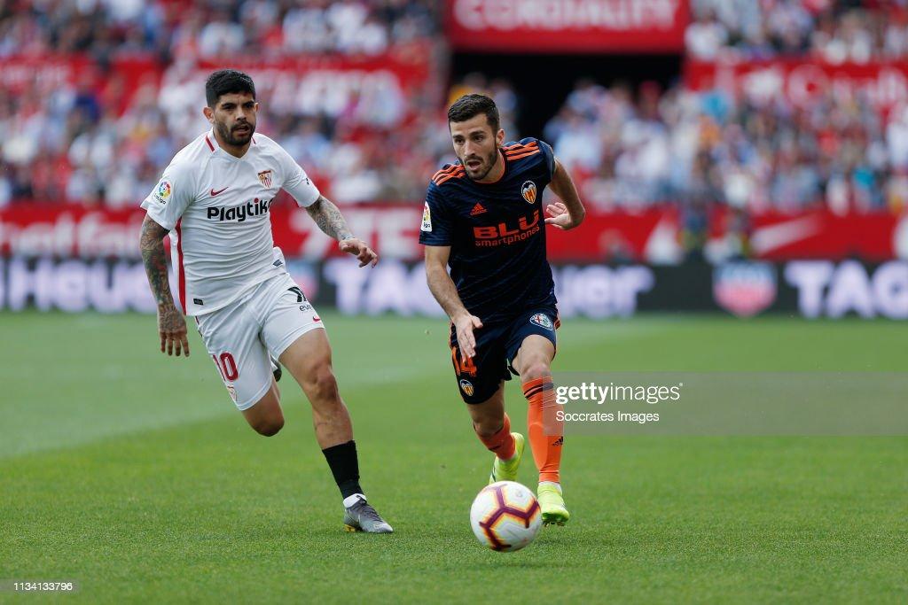 Sevilla v Valencia - La Liga Santander : Fotografía de noticias