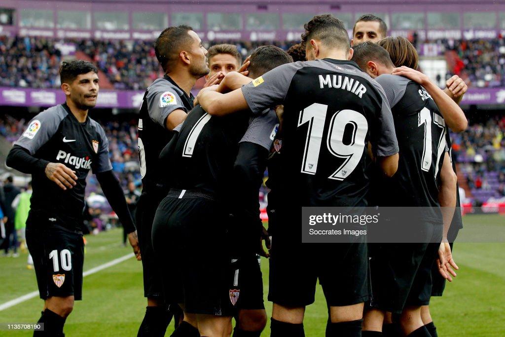 Real Valladolid v Sevilla - La Liga Santander : Fotografía de noticias