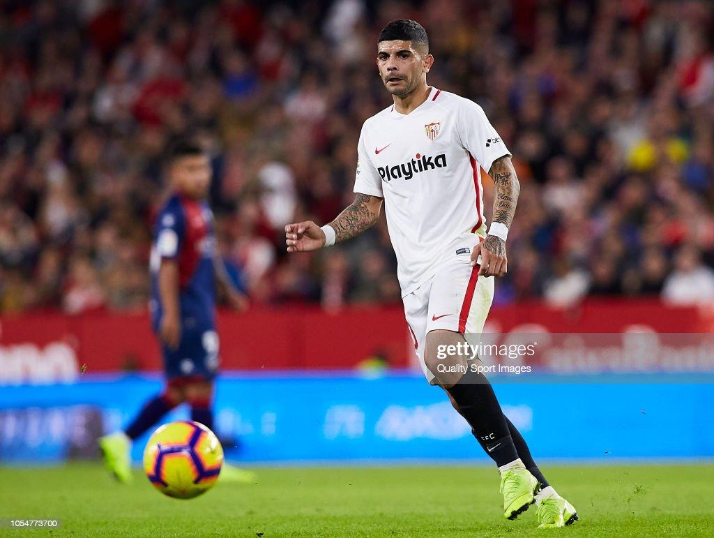 Sevilla FC v SD Huesca - La Liga : News Photo