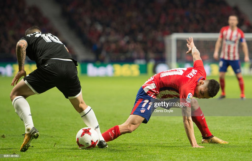 Atletico de Madrid v Sevilla - Spanish Copa del Rey
