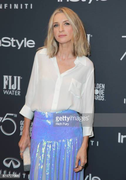 Ever Carradine attends the Hollywood Foreign Press Association and InStyle celebrate the 75th Anniversary of The Golden Globe Awards at Catch LA on...