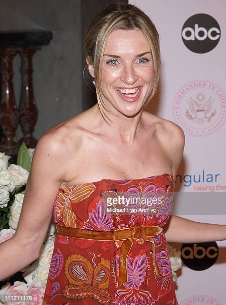Ever Carradine during 'CommanderinChief' Inaugural Ball and Premiere Screening at Regent Beverly Wilshire in Beverly Hills California United States