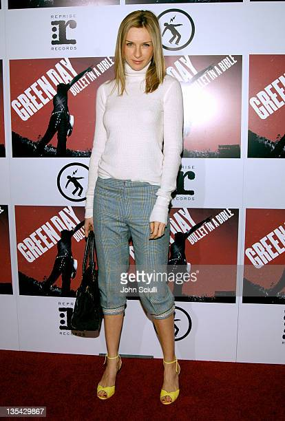 Ever Carradine during Green Day's 'Bullet in a Bible' Los Angeles Premiere Arrivals at Arclight Theatre in Hollywood California United States