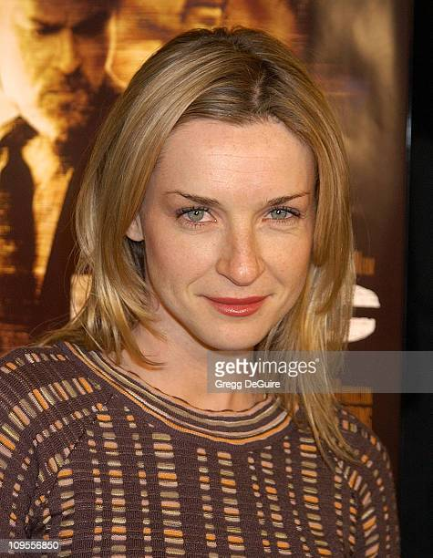 Ever Carradine during 'Narc' World Premiere Los Angeles at Academy of Motion Picture Arts Sciences in Beverly Hills California United States