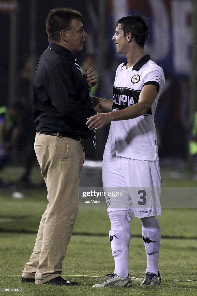 Olimpia v Universidad de Chile - Copa Bridgestone Libertadores 2013
